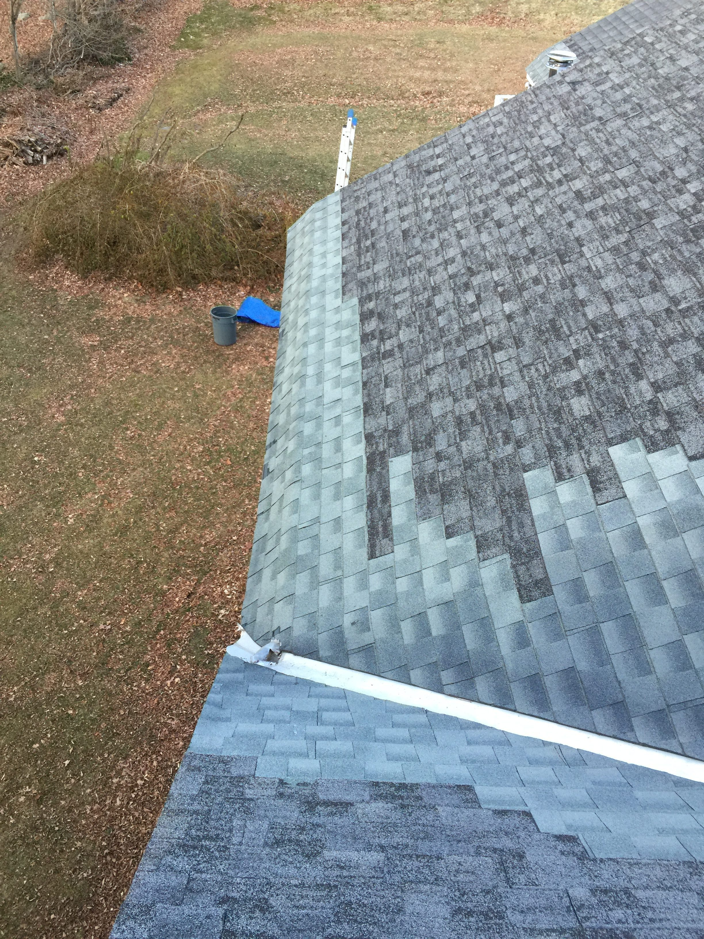 Colebrook, CT - Roof Before