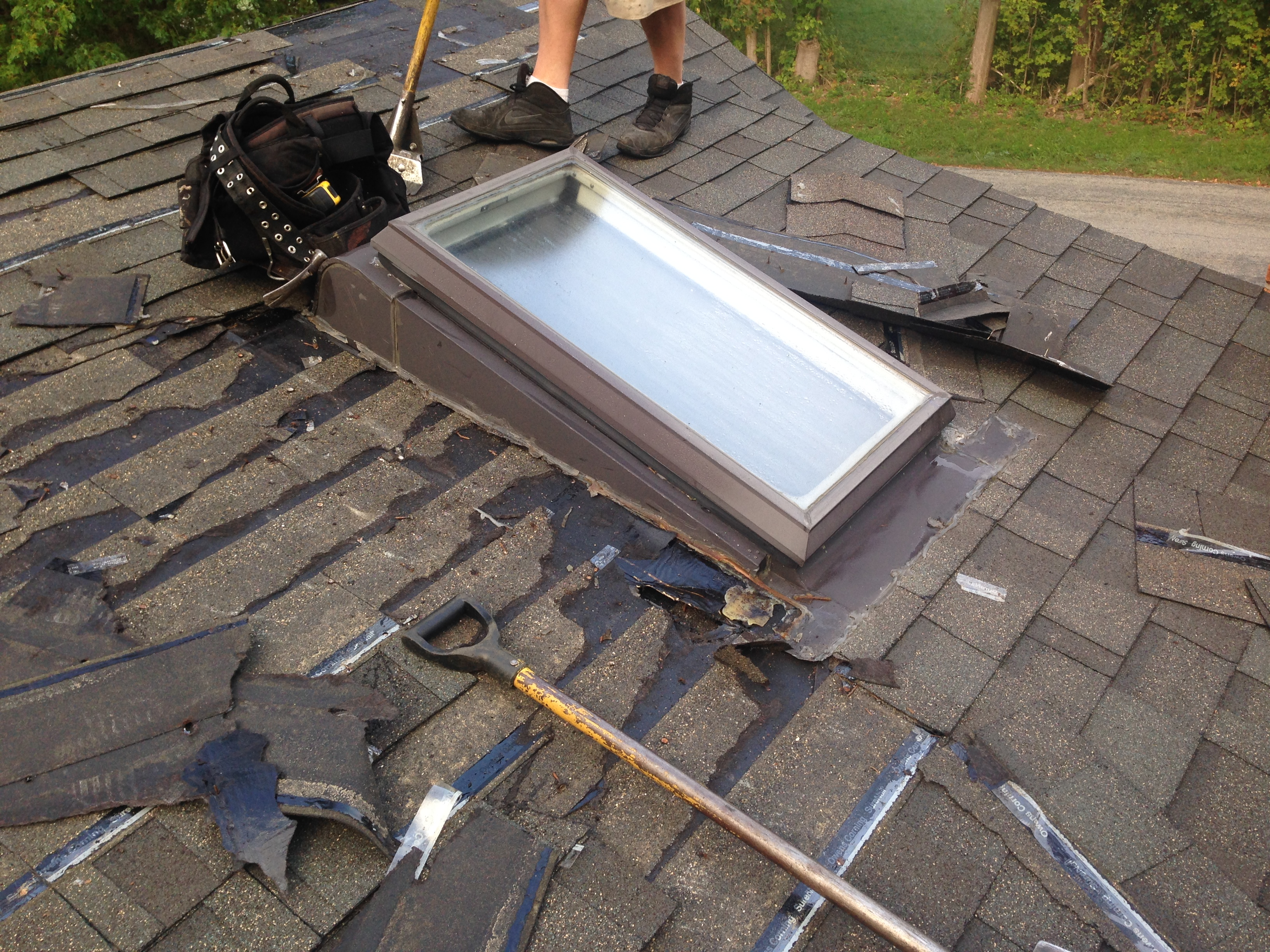East Canaan, CT - Roof Before