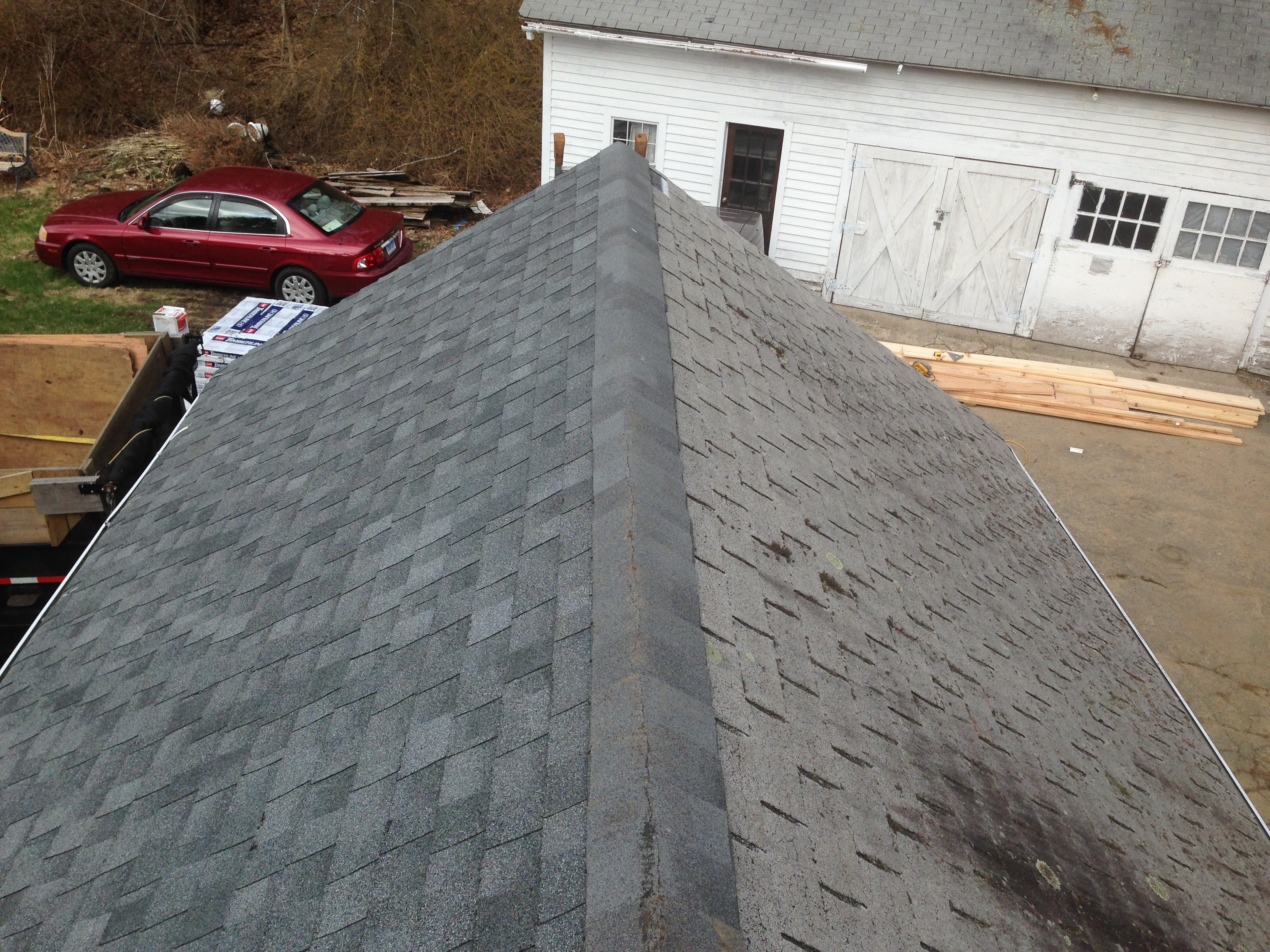 New Hartford, CT - Roof Before