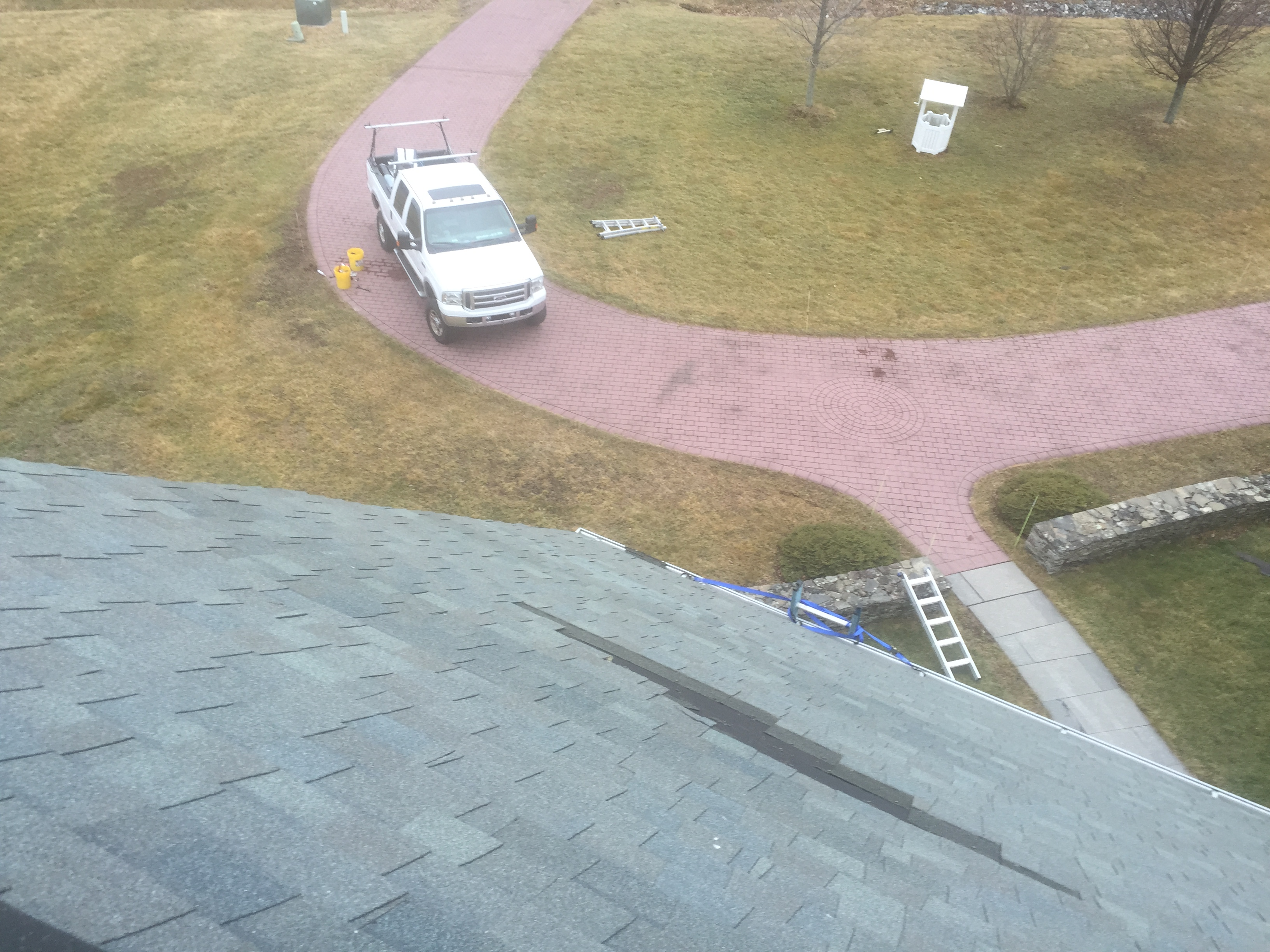 Watertown, CT - Roof Repair Before